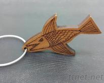 木製鑰匙圈/客製化鑰匙圈 雷射雕刻