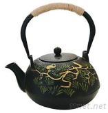 1.2L铸铁茶壶(双铁松树仙雀)