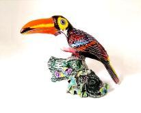 018大嘴鳥造型珠寶盒