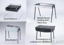 简易型内销白铁,镀锌,烤漆烤肉架 烤肉炉