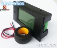 交流100A电能计量 电力监测仪 电表 四参数同屏显示 数显表 电压表 电流表 功率表