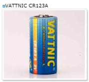 VATTNIC CR123A 充電式電池