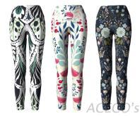 客製瑜珈褲 / 七分褲 / 緊身褲:高品質機能布&耐久熱轉印