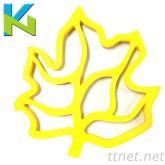 樹葉隔熱防滑墊 廚房家用隔熱產品 矽膠隔熱墊 矽膠製品廠家