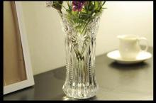 水晶透明玻璃花瓶