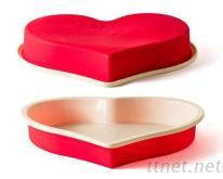 雙色心型烤盤