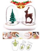 創意調味罐(聖誕樹&麋鹿) X'mas限定