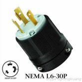 發電機插頭 NEM L6-30P插頭 大功率插頭 30A 日本發電機插頭