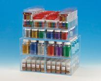 壓克力盒組立金蔥粉