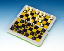 (折疊式彩色鐵盒) 磁鐵西洋棋