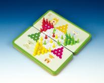 (折叠式彩色铁盒) 磁铁跳棋