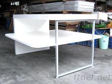 雙層展示桌