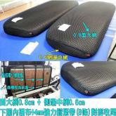 诚都牌, GK-3, 高尔夫球车 网垫 黏扣带式 椅套 厚0.8cm大网+侧边厚0.6cm小网