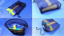 AGK, 全网状, 衣物收纳袋, 内衣洗衣袋, 置物袋, 旅行收纳专用, 多用途, 适用: 雨衣, 衣物, 布偶, 布料, 鞋子, 书籍