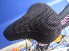雙層加厚, 自行車隔熱椅套, 腳踏車透氣網墊套, ART