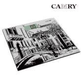 【CAMRY】威尼斯精典數位體重計(輕薄型)