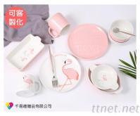 紅鶴陶瓷餐具套裝