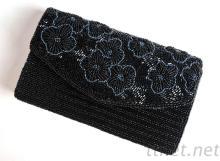 廠家直銷珠繡包 串珠手袋 珠繡硬殼包 珠繡手拿包