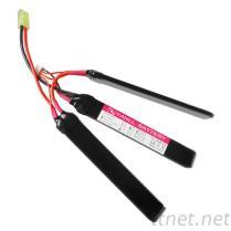 动力CS模型玩具电池组, 11.1V 1500mAh 15C高倍率锂电池