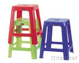 四角高脚椅