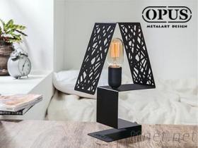 OPUS 歐式鐵藝 字韻檯燈 請另購E27燈頭燈泡 桌燈 LED 床頭燈