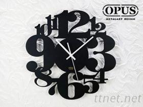 OPUS東齊金工 歐式鐵藝時鐘 數字遊戲 藝術掛鐘