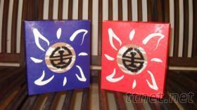 台鐵圍巾禮盒~台灣阿里山紀念版
