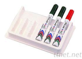 玻璃白板專用磁性筆座