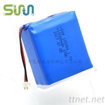 3.7V大容量锂电池, 105054-3P智能机器人聚合物锂电池