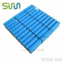 18650-22P3S 耐高温锂电池组11.1V 太阳能设备充电电池48Ah大容量