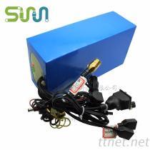 18650-10P3S 移动发卡机锂电池组 11.1V 太阳能设备充电电池22Ah