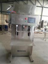 灌裝機-玻璃水灌裝機-濟南半自動灌裝機