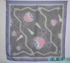 高級100%聚酯纖維圍巾