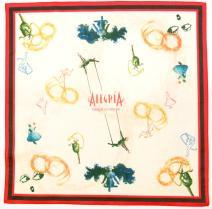 太阳马戏团彩色印花头巾