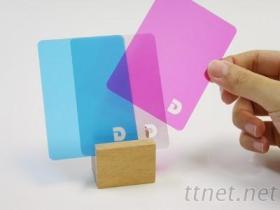 客制化桌游(色彩组合卡)