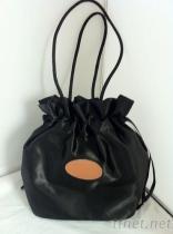 包袋類設計代工打樣製造專家-緞面布束手袋
