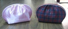 名宸公司包袋类设计制造专家/缎面布化妆包