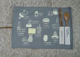 名宸公司环保手提袋工厂/环保餐具袋