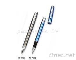 金属钢珠笔
