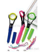 放大鏡功能造型原子筆, 可於產品印刷客人Logo