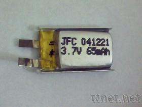 041221锂电池, 聚合物电池401221