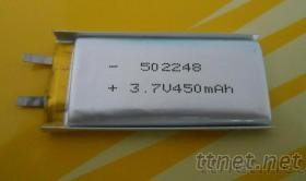 502248 3.7V 450mAh 聚合物充电电池