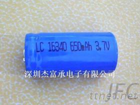 符合IEC62133认证电池16340, 圆柱电池, 16320 3.7V 锂电池