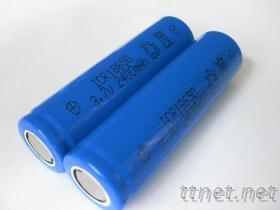 小风扇电池18650 手电筒专用充电锂电池 18650电池