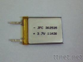小容量聚合物302535 鋰電池 3.7V 3*25*35mm