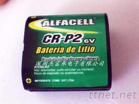 相机电池 CR-P2 2CR5 6.0V 工控设备专用电池