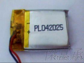 锂聚合物电池 402025, 可充电软包电池