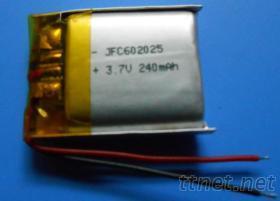 鋰聚合物電池 602025 加保護板電池