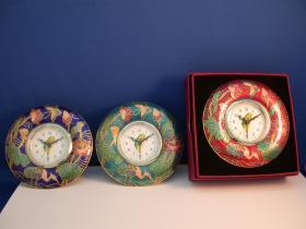 景泰藍圓形鬧鐘, 時鐘, 鬧鐘
