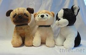 狗年吉祥物毛绒玩具